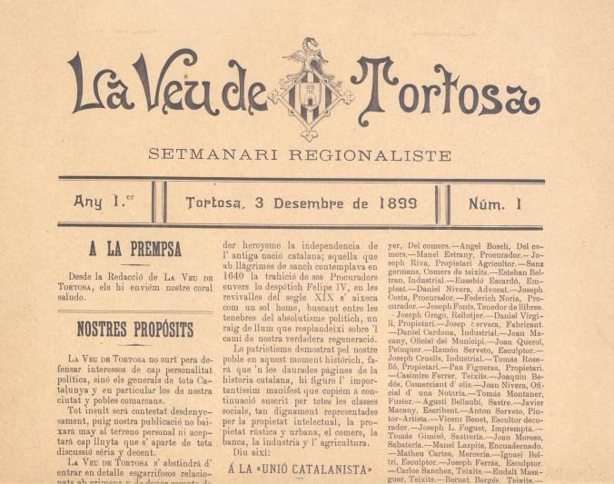 Francesc Mestre LA VEU DE TORTOSA