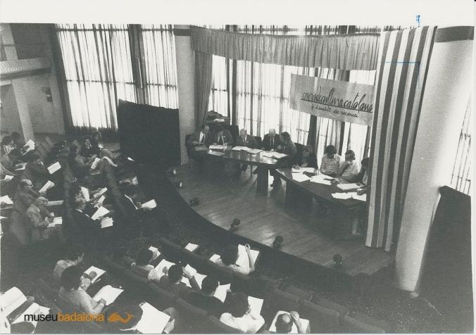 CCC1. Cloenda àmbit Recerca 16-10-77 (Museu de Badalona)