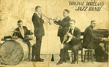Historia Jazz Original Dixieland Jass Band