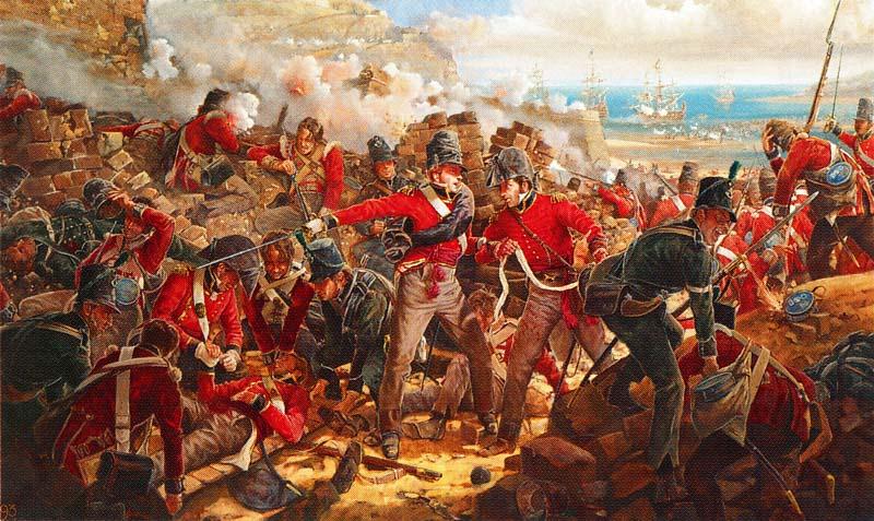 Guerra del Francès_Soldats britànics a la Peninsular War, 1813.jpg