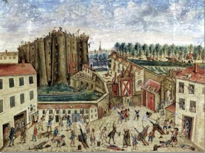 14 de Juliol_Siege_of_the_Bastille_(Claude_Cholat)